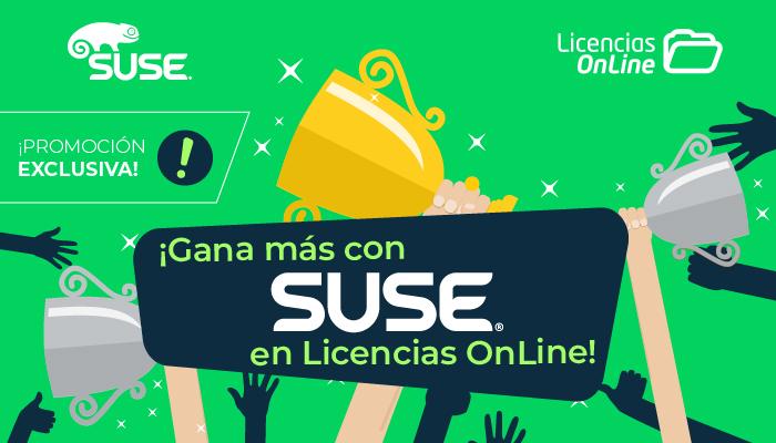 ¡Gana más con SUSE en Licencias OnLine!