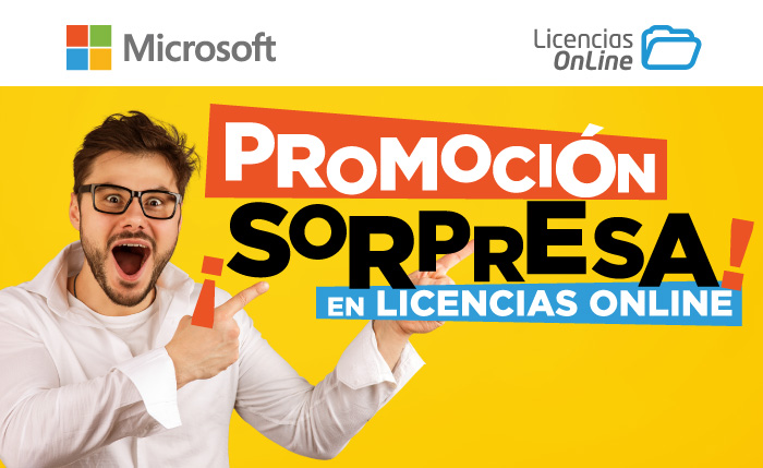 ¡Promoción sorpresa en Licencias OnLine!