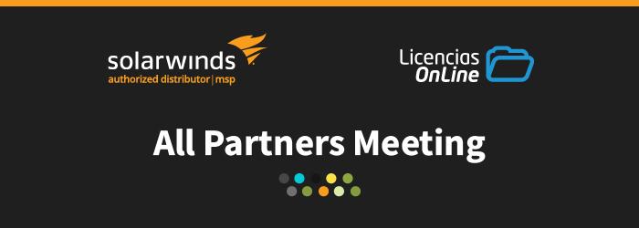 All PArtners Meeting de SolarWinds MSP